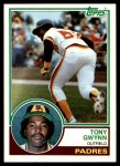 1983 Topps #482  Tony Gwynn  Front Thumbnail