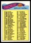 1977 Topps #256   Checklist 133-264 Front Thumbnail