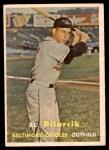 1957 Topps #311  Al Pilarcik  Front Thumbnail