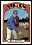 1972 Topps #445  Tom Seaver  Front Thumbnail