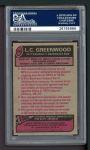 1977 Topps #355  L.C.Greenwood  Back Thumbnail