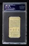 1911 T205  Ty Cobb  Back Thumbnail