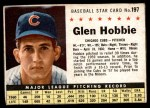 1961 Post #197 BOX Glen Hobbie   Front Thumbnail