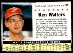 1961 Post #122 BOX Ken Walters   Front Thumbnail