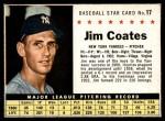 1961 Post #17  Jim Coates   Front Thumbnail