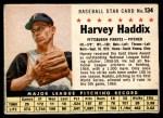 1961 Post #134  Harvey Haddix   Front Thumbnail
