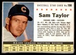 1961 Post #198 BOX Sam Taylor   Front Thumbnail