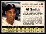 1961 Post #24 BOX Al Smith   Front Thumbnail