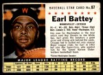 1961 Post #97 BOX Earl Battey   Front Thumbnail