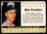 1961 Post #17  Jim Coates   Front Thumbnail