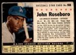 1961 Post #166 BOX John Roseboro   Front Thumbnail