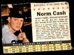 1961 Post #40 BOX Norm Cash   Front Thumbnail
