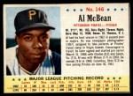 1963 Post #146  Al McBean  Front Thumbnail