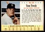 1963 Post #23  Tom Tresh  Front Thumbnail
