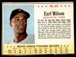 1963 Post #83  Earl Wilson  Front Thumbnail