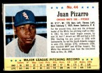 1963 Post #44  Juan Pizarro  Front Thumbnail