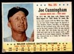 1963 Post #35  Joe Cunningham  Front Thumbnail