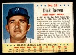 1963 Post #52  Dick Brown  Front Thumbnail