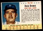 1963 Post #52  Dick Brown  Front Thumbnail