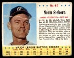 1963 Jello #85  Norm Siebern  Front Thumbnail