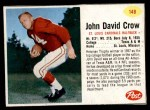 1962 Post #148  John David Crow  Front Thumbnail