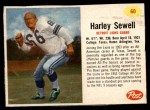 1962 Post #60  Harley Sewell  Front Thumbnail