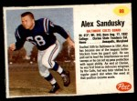 1962 Post #88  Alex Sandusky  Front Thumbnail