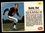 1962 Post #122  Buddy Dial  Front Thumbnail