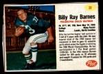 1962 Post #31  Bill Barnes  Front Thumbnail
