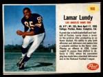 1962 Post #166  Lamar Lundy  Front Thumbnail