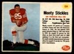 1962 Post #104  Monty Stickles  Front Thumbnail