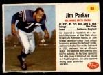 1962 Post #86  Jim Parker  Front Thumbnail