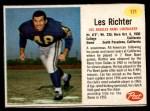 1962 Post #171  Les Richter  Front Thumbnail
