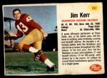 1962 Post #192  Jim Kerr  Front Thumbnail
