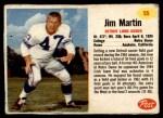 1962 Post #55  Jim Martin  Front Thumbnail