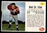 1962 Post #103  Bob St.Clair  Front Thumbnail