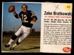 1962 Post #162  Zeke Bratkowski  Front Thumbnail