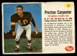 1962 Post #121  Preston Carpenter  Front Thumbnail