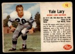 1962 Post #52  Yale Lary  Front Thumbnail