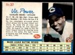 1962 Post #37  Vic Power   Front Thumbnail