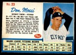 1962 Post #23  Don Mossi   Front Thumbnail