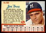 1962 Post #152  Joe Torre   Front Thumbnail