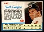 1962 Post #45  Chuck Essegian   Front Thumbnail