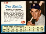 1962 Post #59  Don Buddin   Front Thumbnail