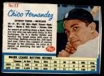 1962 Post #17  Chico Fernandez   Front Thumbnail