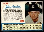 1962 Post #98  Jim Archer   Front Thumbnail