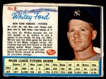 1962 Post #9  Whitey Ford   Front Thumbnail