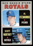 1970 Topps #241   -  Al Fitzmorris / Scott Northey Royals Rookies Front Thumbnail