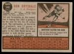 1962 Topps #340  Don Drysdale  Back Thumbnail
