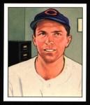 1950 Bowman REPRINT #198  Danny Litwhiler  Front Thumbnail
